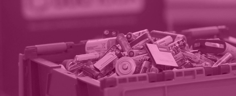 collecte piles usagées